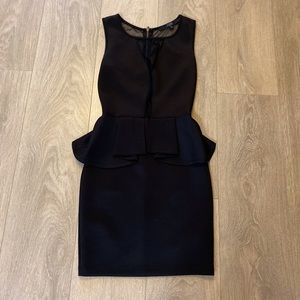 🆕 Guess peplum dress NWOT